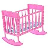 Sitrda Plastique bébé à bascule Lit Chambre à coucher meubles...
