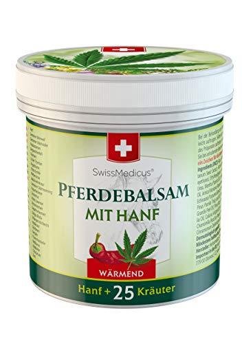 SwissMedicus Pferdebalsam mit Hanf wärmend, ideal für...