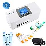 IDABAY Santé Réfrigerateur Glacière Électrique Portable Mini Thermostat Interféron Insuline...