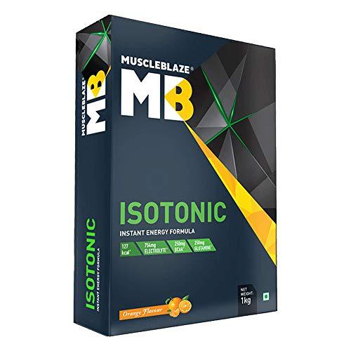 MuscleBlaze Isotonic Instant Energy Formula, 1 kg / 2.2 lb Orange