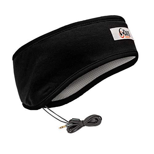 CozyPhones Sleep Headphones & Travel Bag, Lycra Cool...