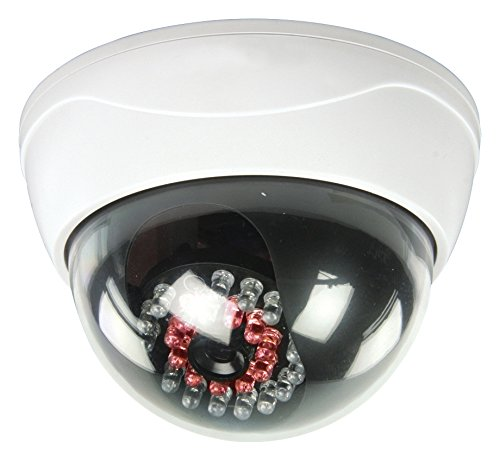 König Dome Kameraattrappe mit 25 IR-LEDs, SEC-DUMMYCAM95