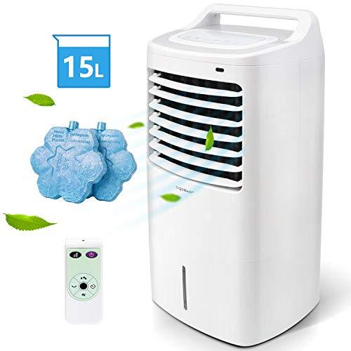 Aigostar 33JTJ - Raffrescatore, Refrigeratore d'aria. 15 litri. 60W, 3 modalit selezionabile con...