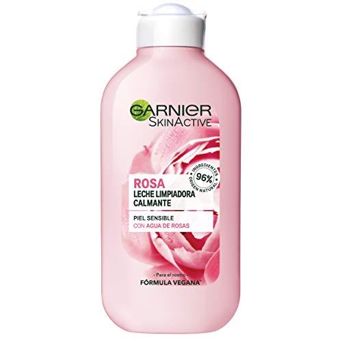 Garnier Skin Active Leche Limpiadora Suave para Pieles Secas y Sensibles - 200 ml