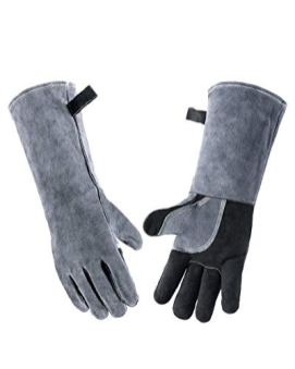 Wanyi-16-Inches-932500-Leather-Welding-Gloves-for-Extreme-Heat-Resistance