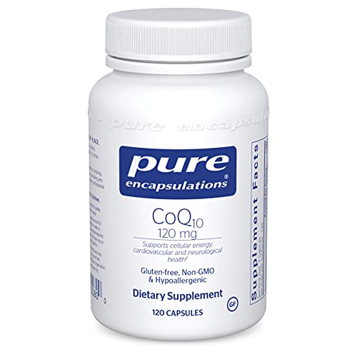 Pure Encapsulations CoQ10 120 mg   Coenzyme Q10 Supplement...