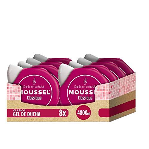 Moussel Gel Líquido Classique con Aceites Esenciales Natura