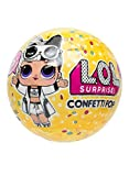 L.O.L. Surprise! - Confetti Pop con Mini Doll a Sorpresa, 9 Livelli, Modelli Assortiti, LLU10000