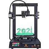 MINGDA D2 3D Printer - FDM 3D Printing Machine with Dual Z, Direct Drive Extruder, Build Plate: 230x230x260mm, Silent 32 Bit Board. Great for DIY Beginners