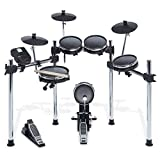 Alesis Surge Mesh Kit | Eight-Piece Electronic Drum Kit with Mesh Heads | 40 Kits, 385 sounds, 60...