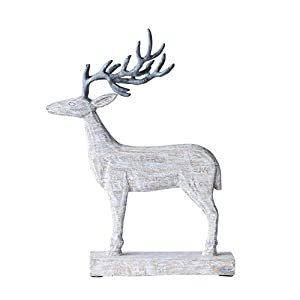 From the holly jolly christmas collection 12.6(L) x 6.3(W) x 18.55(H) Christmas/holiday decorative figurine Country of Origin: India