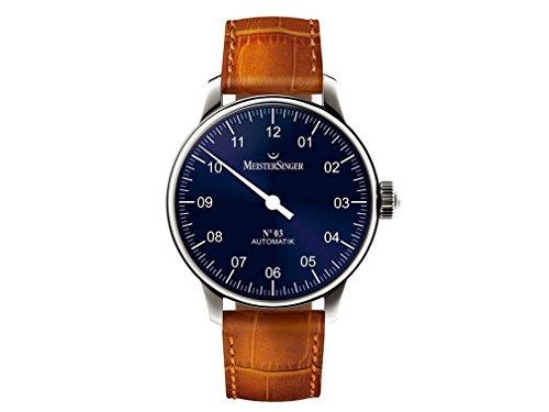 MeisterSinger Uhren Herrenuhr Einzeigeruhr N03 AM908
