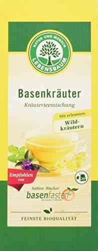 Lebensbaum Kräutertee Im Teebeutel - Basenkräuter (Mit Wildkräutern), 30 g