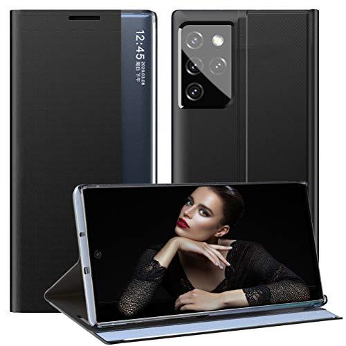 vivio Compatible con Samsung Galaxy S21 Ultra 5G, funda de piel...