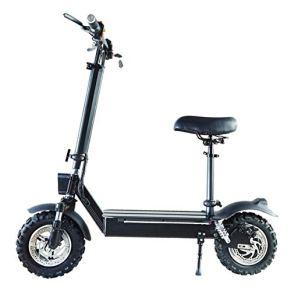 L&WB Scooter eléctrico - Plegable portátil, Amortiguador de Choque hidráulico, Sistema de Control Inteligente, Coche de…