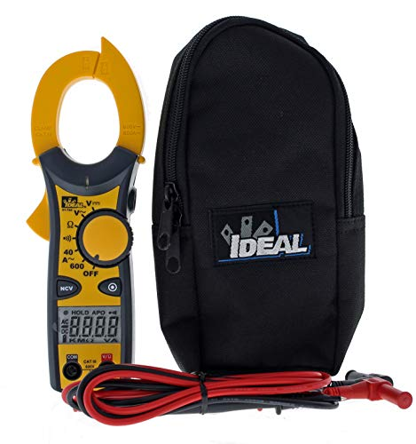 IDEAL INDUSTRIES INC. 61-744 Clamp Meter 600 Amp AC with NCV, Voltage...