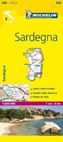 Mapa Local Italia Sardegna (Mapas Local Michelin)
