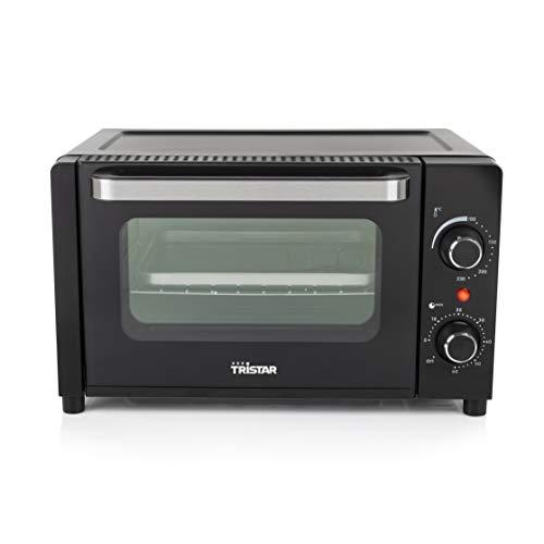 Tristar Mini forno OV-3615, 1300 watt, 10 litri, per grigliare, cuocere e tostare, Versatile e Compatto, Nero