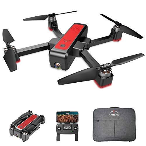 MARSMO Drone B4W WiFi FPV con 2K Live Camera Regolabile 3 modalit di Volo, Distanza di Controllo...