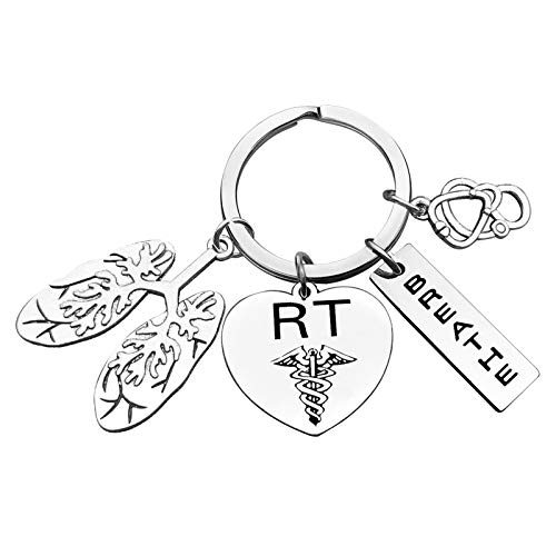 Respiratory Therapist Gift Respiratory Therapist Keychain...