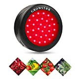 Growstar UFO 150W All Deep Red LED Grow Light,660nm Full Red Spectrum for Indoor & Greenhouse Hydroponics Plants Bloom Booster Flowering and Fruiting,Growing Spectrum Enhancement
