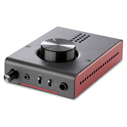 Schiit Hel High Power Gaming DAC/Amp - D to A Converter and Headphone Amplifier with Microphone Input