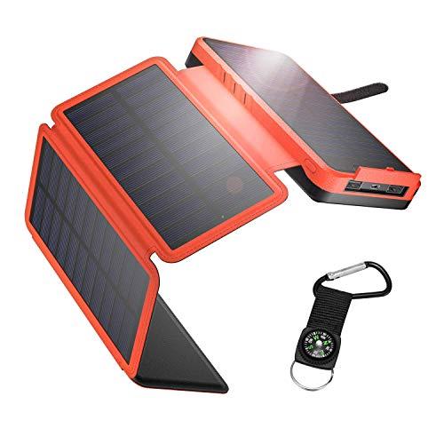 IEsafy Powerbank Solare 26800mAh, Caricatore...