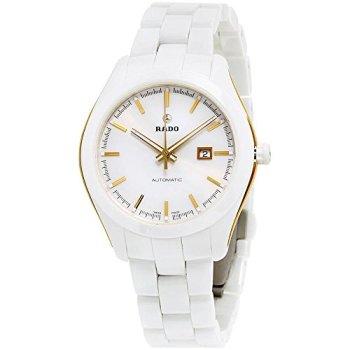 Rado Hyperchrome White Dial Ceramic Automatic Ladies Watch R32257012