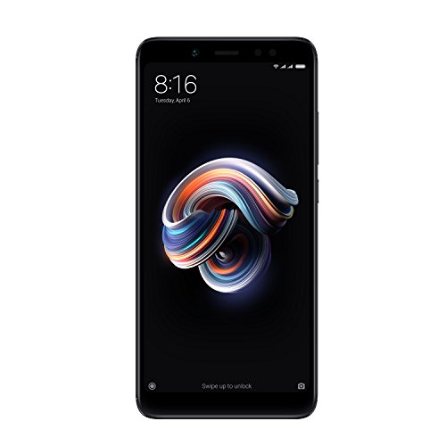 "Xiaomi Redmi Note 5 - Smartphone de 5.99"" (Snapdragon Octa-core 636, memoria interna de 64 GB, 4 GB de RAM, cámara de 13 MP, Android) negro"