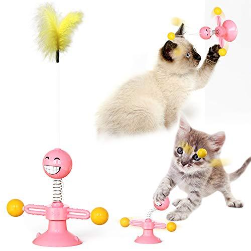 TUXUNQING Juguetes interactivos para Gatos