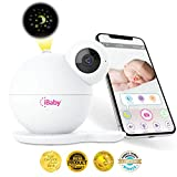 iBaby M7 Baby Monitor 1080P with Thousands of lullabies & Bed Stories, Motion and Cry Alert, Temperature & Humidity Sensors, Air Sensors, Moonlight Projector