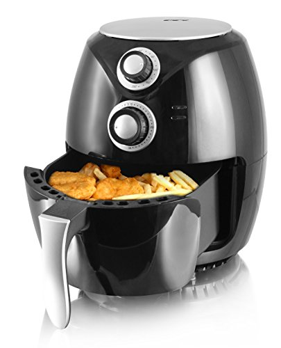Emerio Heißluftfritteuse, Airfryer, Smart Fryer, Test 'GUT', Frittieren ohne Öl, 3,6 Liter Volumen, 1400 Watt, AF-112828