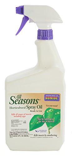 Bonide 214 617407730609 Season Horticultural Spray Oil, 32 fl. OZ, Brown/A