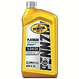 Pennzoil Platinum Full Synthetic 5W-30 Motor Oil (1-Quart, Single)