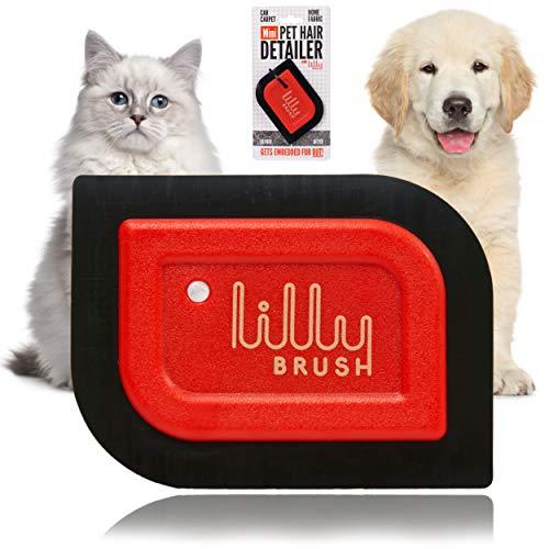 Lilly Brush Mini Pet Hair Detailer Dog Hair Remover, Cat Hair Remover,...
