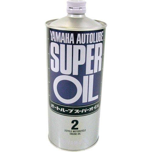 ヤマハ(YAMAHA) 二輪車用エンジンオイル オートルーブ スーパー 半合成油 2サイクル用 1L 90793-30121 [HTRC3]