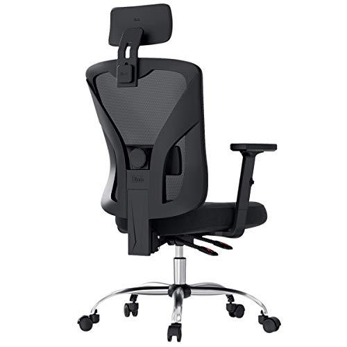 Hbada Ergonomic Office Desk Chair with Adjustable...