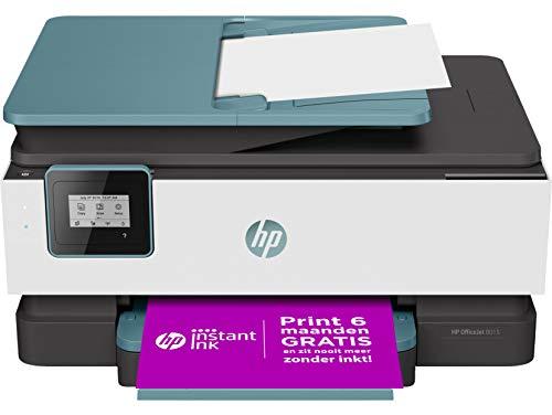 HP OfficeJet 8015 Stampante Multifunzione a Getto...