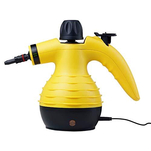 Bissell Handheld Pressurized Steam Cleaner Multipurpose Multisurface, Yellow (Renewed)