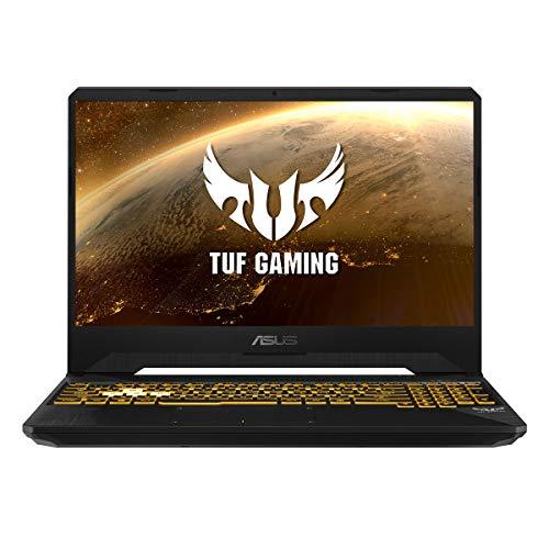 "ASUS TUF Gaming FX505DT-BQ121 - Portátil Gaming 15.6"" FullHD (Ryzen 7 3750H, 16GB RAM, 512GB SSD, NVIDIA GeForce GTX 1650, sin sistema operativo) Negro Sigilo - Teclado QWERTY Español"