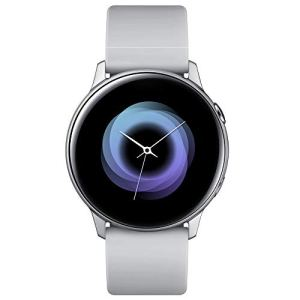 Samsung Galaxy Watch Active – 40mm, IP68 Water Resistant, Wireless Charging, SM-R500N International Version (Silver)