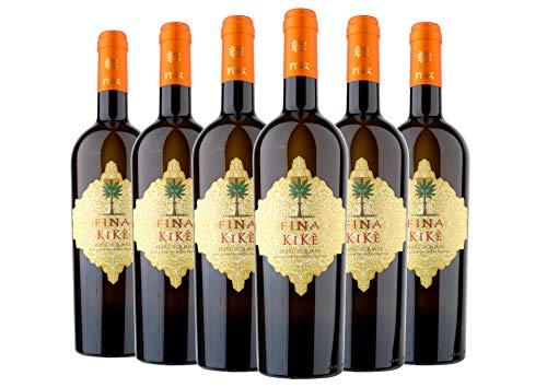 Terre Siciliane IGT Traminer Aromatico Sauvignon Blanc Kik Cantine Fina 2020 6 bottiglie da 0,75 L