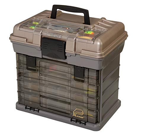 Plano 137401 By Rack System 3700 Size Tackle Box, Multi, 16' X 12' X 17.25' 6lbs