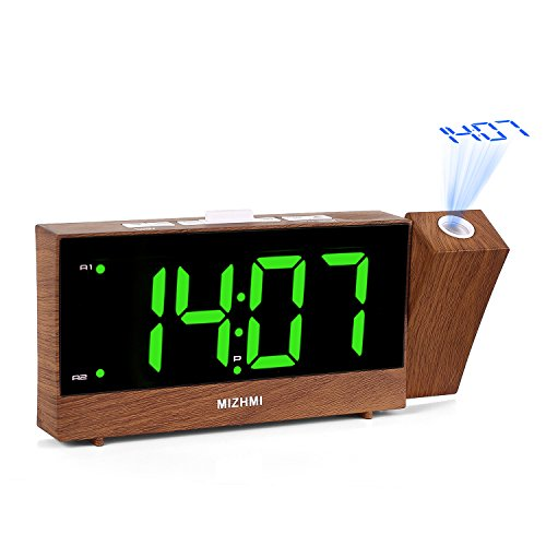 41r6Wn0cb4L - The 7 Best Projection Clocks: Chic, Modern and Functional Timepieces That Will Transform Your Home