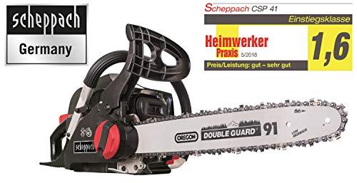 Scheppach Benzin Kettensäge CSP41 (2 PS, 40cm...