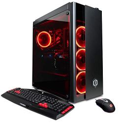 CYBERPOWERPC Gamer Xtreme VR GXiVR8080A5 Gaming PC (Liquid Cool Intel Core i9-9900K 3.6GHz, 16GB DDR4, NVIDIA GeForce RTX 2080 8GB, 240GB SSD, 1TB HDD, 802.11AC WiFi, Win 10 Home)