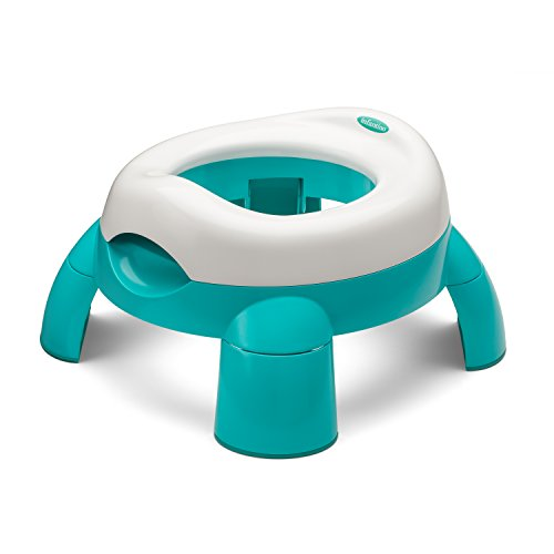 Infantino Up and Go Compact Travel Potty, Teal