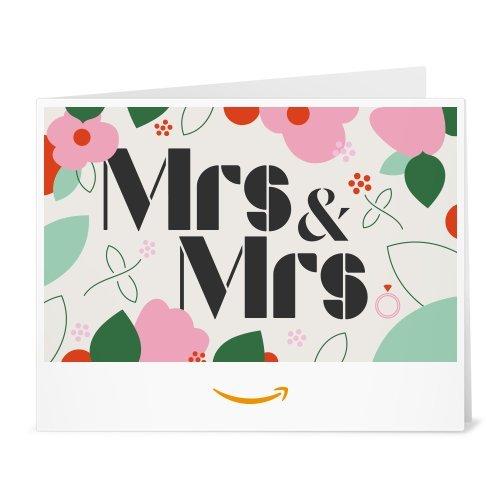 Amazon Gift Card - Print - Mrs&Mrs