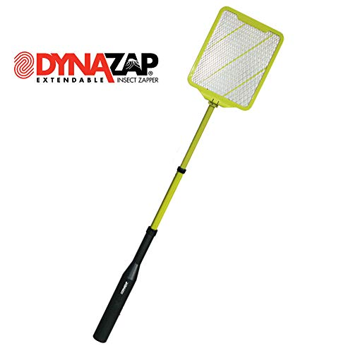 Dynazap DZ30100 Extendable Insect Zapper, 16-1/2 in, Black/Green