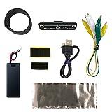 子供がmicro:bitで遊ぶのに必要な物を一通り揃えたキットです(micro:bit本体・電池が別途必要) ハンダゴテやブレッドボードを使わずに遊ぶのに最適です 電池ボックスはSW付きで単4x2本、micro:bit本体とマジックテープで合体でき、手足にも装着が可能 ワンタッチで脱着できるスピーカーユニットです